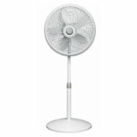 Lasko Adjustable Elegance and Performance Pedestal Fan - White - 18 in