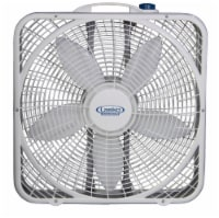 Lasko Premium Weather-Shield Box Fan - White
