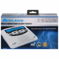 Midland Digital Weather All Hazards Alarm Clock - White - 1 ct