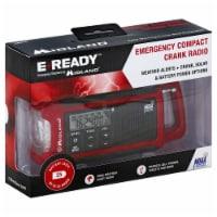 E-Ready Emergency Compact Crank Radio - 1 ct