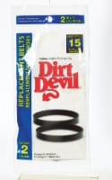 Dirt Devil Style 15 Replacement Belts - 2 Pack