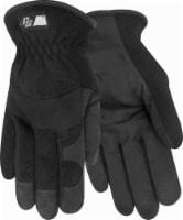 Red Steer Ironskin Hi-Dex Men's Work Gloves - Black - M