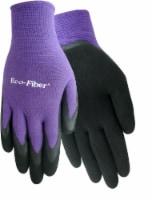 Red Steer Glove Company Eco-Fiber Bamboo Blend Rubber Grip Women's Gloves - Purple