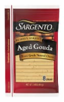Sargento Reserve Series Aged Gouda Cheese Slices 8 Count
