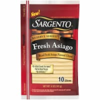 Sargento Reserve Series Fresh Asiago Cheese Slices