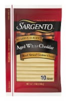 Sargento Aged White Cheddar Cheese Slices