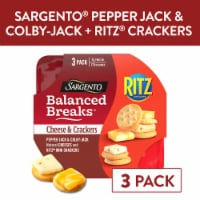 Sargento Balanced Breaks Pepper-Jack and Colby-Jack with Ritz Original Crackers