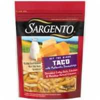 Sargento Off the Block Shredded Taco Cheese - 8 oz