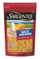 Sargento Off the Block Shredded Mild Cheddar Cheese
