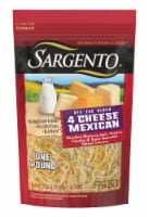 Sargento® Off the Block Fine Cut Shredded 4 Cheese Mexican Cheese - 16 oz