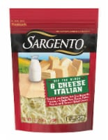 Sargento Off the Block Fine Cut Shredded 6 Cheese Italian Cheese