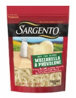 Sargento Off the Block Mozzarella & Provolone Shredded Cheese