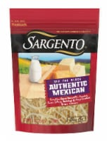 Sargento Off the Block Fine Cut Shredded Authentic Mexican Cheese