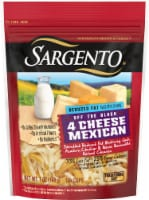 Sargento Off the Block Reduced Fat Shredded 4 Cheese Mexican Cheese