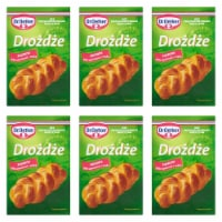 From Europe Dr. Oetker Dry Yeast 7g Pack of 6