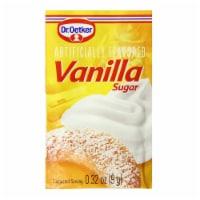 Dr. Oetker Vanilla Sugar, .32 oz., 12 Count - 12 Sachets/ 0.32 Ounce