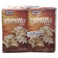 Dr. Oetker Vanilla Sugar - Natural - 6 × 8 g - 6 Sachets/ 0.28 Ounce