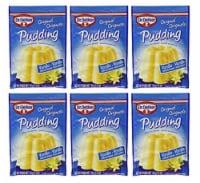 Dr. Oetker Vanilla Pudding 1.5 oz (Pack of 6)
