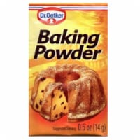 Dr Oetker Baking Powder, 0.5000-Ounce (Pack of 12) - 12 Sachets/ 0.5 Ounce
