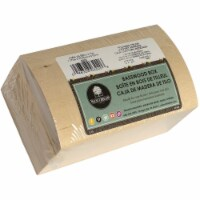 Walnut Hollow Basswood Hinged Rounded Box-6.15 X3 X3.75 - 1