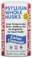 Yerba Prima Psyllium Whole Husks Colon Cleanser - 12 oz