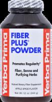 Yerba Prima Fiber Plus Powder Apple Spice 12 Oz
