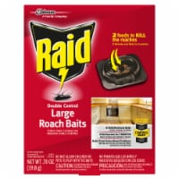Raid® Double Control Large Roach Baits - 8 Pack