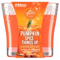 Glade Limited Edition Pumpkin Spice Things Up Candle