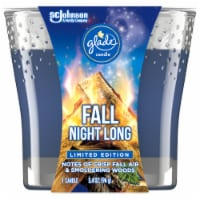 Glade Limited Edition Fall Night Long Candle