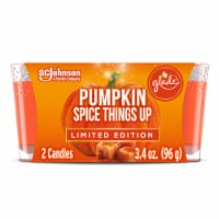 Glade Limited Edition Pumpkin Spice Things Up Candles 2 Count
