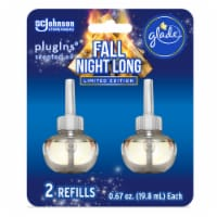 Glade PlugIns Limited Edition Fall Night Long Scented Oil Refills 2 Count