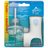 Glade Limited PlugIns Edition Sky & Sea Salt Scented Oil Warmer