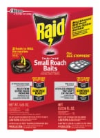 Raid Solid Roach Killer 0.63 oz. - Case Of: 6; Each Pack Qty: 2; Total Items Qty: 12 - Case of: 6