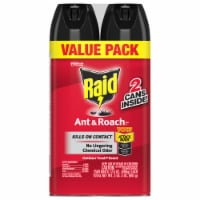 Raid® Outdoor Fresh Scent Ant and Roach Insecticide Spray Value Pack