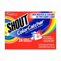 Shout Color Catcher Sheets