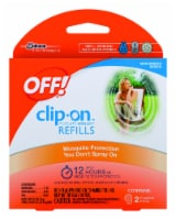 Off!® Clip-On Mosquito Repellent Refill - 2 Pack