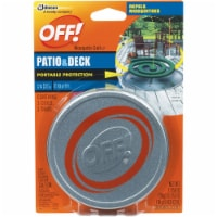 Off!® Patio & Deck Mosquito Coil III Pot with Refills