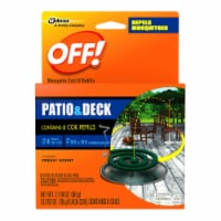 Off!® Patio and Deck Mosquito Repellent Coil Refills 6 Count