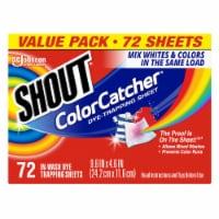 Shout Color Catcher Sheets