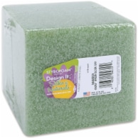 Floracraft Styrofoam Cube-4 X4 X4 - 1