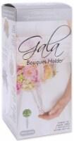 Floracraft Gala Bouquet Holder 4.125 X9.75 -Crystal Acrylic Handle W/Green Dry Foam - 1