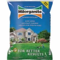 Milorganite Slow-Release Nitrogen Lawn Fertilizer - 36 lb
