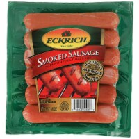 Eckrich Smoked Sausage Links 6 Count