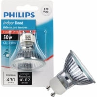 Philips 50-Watt GU10 Base MR16 Indoor Floodlight Bulb