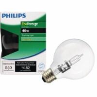 Philips 40w G25 Globe Hal Bulb 420844 - 1