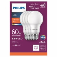 Philips 8.5-Watt (60-Watt) A19 LED Light Bulbs
