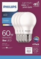 Philips 8-Watt A19 LED Light Bulbs