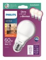Philips 9-Watt (60-Watt) A19 SceneSwitch LED Light Bulb