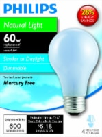 Philips 43-Watt (60-Watt) Medium Base A19 Light Bulbs