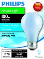 Philips 72-Watt (100-Watt) Medium Base A19 Light Bulbs